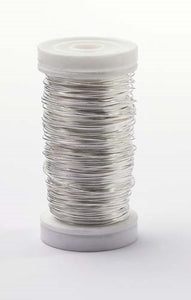 OASIS™ Metallic Wire, Silver, 1 pack - ifloral.com