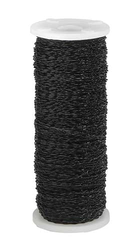 OASIS™ Bullion Wire, Black, 1 pack - ifloral.com