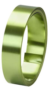"1"" OASIS™ Flat Wire, Apple Green, 1 pack - ifloral.com"