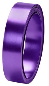 "1"" OASIS™ Flat Wire, Purple, 1 pack - ifloral.com"