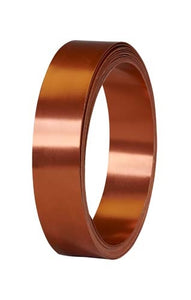 "1"" OASIS™ Flat Wire, Copper, 6/case - ifloral.com"