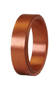 "1"" OASIS™ Flat Wire, Copper Matte, 1 pack - ifloral.com"