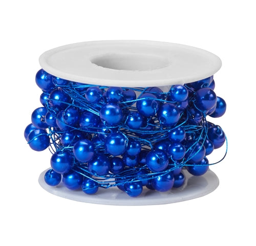 OASIS™ Beaded Wire, Blue, 10/Case - ifloral.com