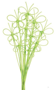 OASIS™ Midollino Butterfly, Apple Green, 8 pack - ifloral.com