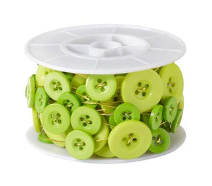OASIS™ Button Wire, Apple Green, 1 pack - ifloral.com