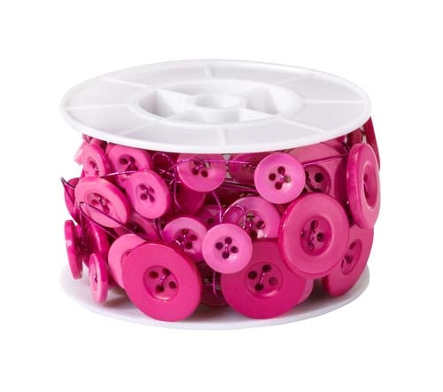OASIS™ Button Wire, Strong Pink, 1 pack - ifloral.com