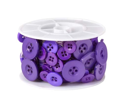 OASIS™ Button Wire, Purple, 6/case - ifloral.com