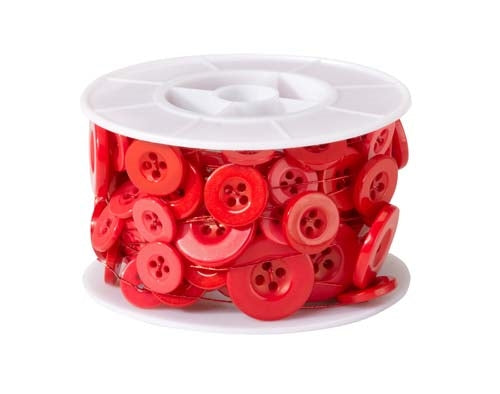 OASIS™ Button Wire, Red, 1 pack - ifloral.com