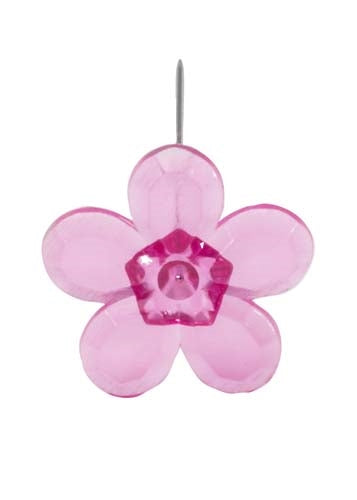 LOMEY™ Retro Flower Pin, Strong Pink, 20 pack - ifloral.com