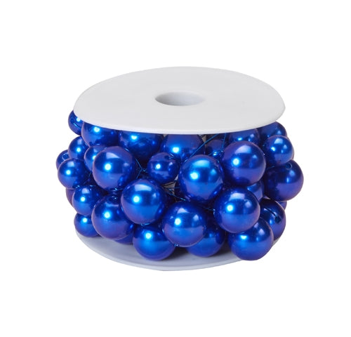 OASIS™ Mega Beaded Wire, Blue, 6/case - ifloral.com