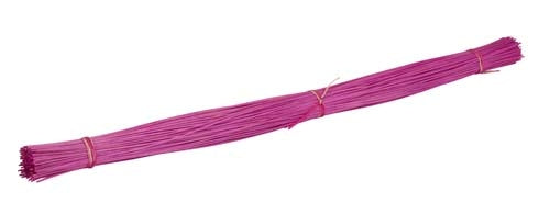 OASIS™ Midollino Sticks, Strong Pink, 10/case - ifloral.com