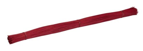 OASIS™ Midollino Sticks, Red, 10/case - ifloral.com