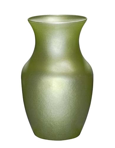 Rose Vase, Apple Green Ice, 12/case - ifloral.com