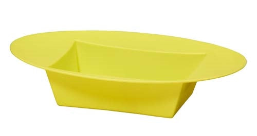 ESSENTIALS™ Oval Bowl, Yellow, 12 pack - ifloral.com