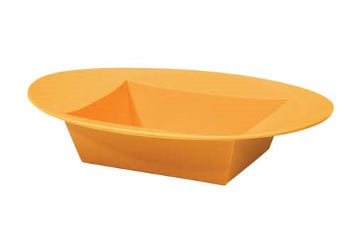 ESSENTIALS™ Oval Bowl, Tangerine, 12 pack - ifloral.com