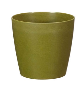 "7"" ECOssentials Cylinder, Moss, 12 case - ifloral.com"