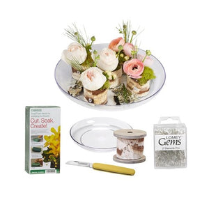 Bark Wrap Centerpiece Kit - ifloral.com