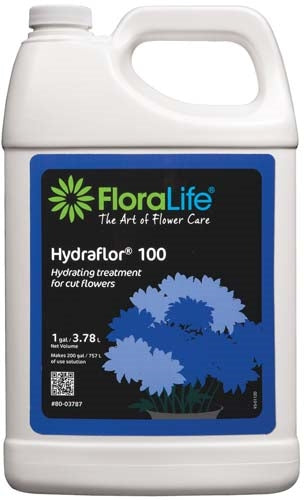 Floralife® HYDRAFLOR®100 Hydrating treatment, 1 gallon, 1 gallon jug - ifloral.com