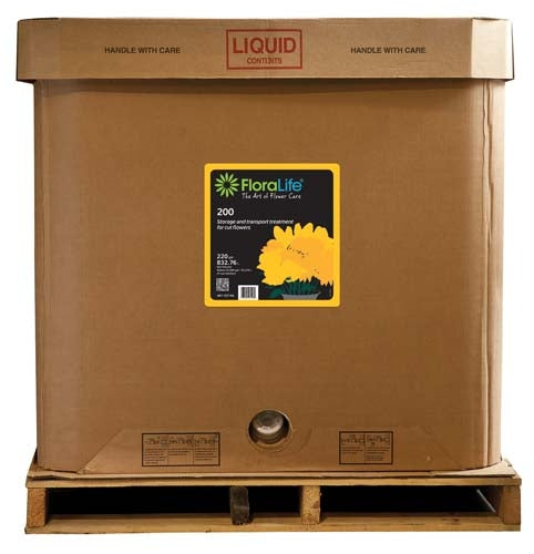 Floralife® 200 Storage & Transport treatment, 220 gallon, 220 gallon tote - ifloral.com