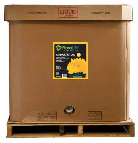 Floralife® Clear Ultra 200 Concentrate Storage & transport treatment, 220 gallon, 220 gallon tote - ifloral.com