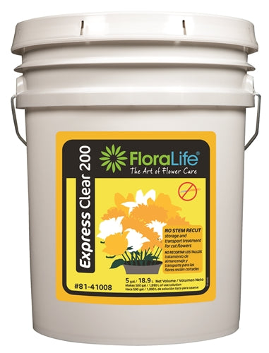Floralife Express Clear 200, 5 gallon - ifloral.com