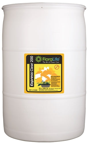 Floralife Express Clear 200, 55 gallon - ifloral.com