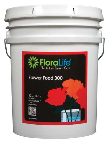 Floralife® Flower Food 300 Powder, 30 lb., 30 lb. pail - ifloral.com