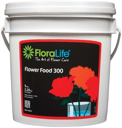 Floralife® Flower Food 300 Powder, 5 lb., 5 lb. pail - ifloral.com