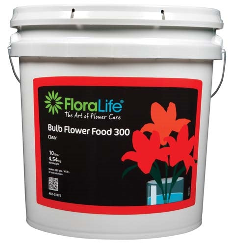 Floralife® Bulb Food Clear 300 Powder, 10 lb., 10 lb. pail - ifloral.com