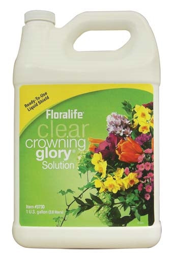 Floralife® Clear Crowning Glory® Solution, 1 gallon, 1 gallon jug - ifloral.com