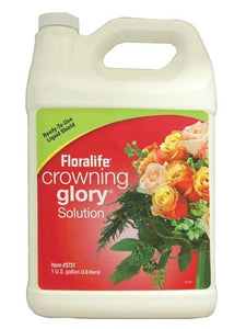 Floralife® Crowning Glory® Solution, 1 gallon, 1 gallon jug - ifloral.com