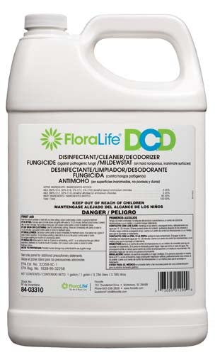Floralife® D.C.D.® Cleaner, 1 gallon, 6/case - ifloral.com