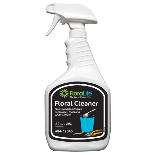 Floralife® Floral Cleaner, 32oz spray bottle (CASE OF 12) - ifloral.com