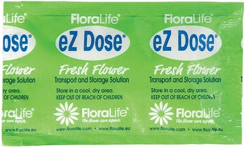 Floralife® Clear 200 eZ Dose® Delivery System, 15 gram packet, 250/case - ifloral.com