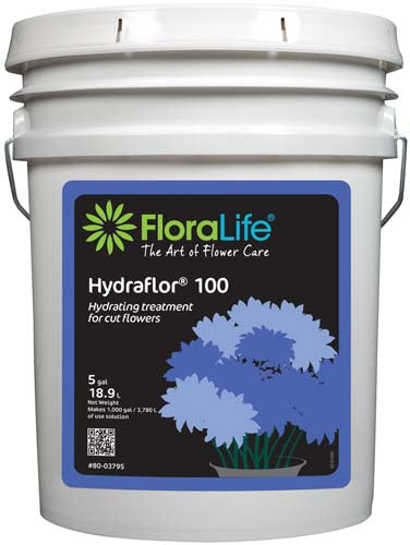 Floralife® HYDRAFLOR®100 Hydrating treatment, 5 gallon, 5 gallon pail - ifloral.com