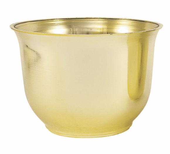 Large Spun Planter, Gold (Pack of 12) - ifloral.com