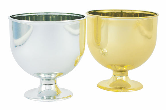 Chalice, Silver (Pack of 24) - ifloral.com