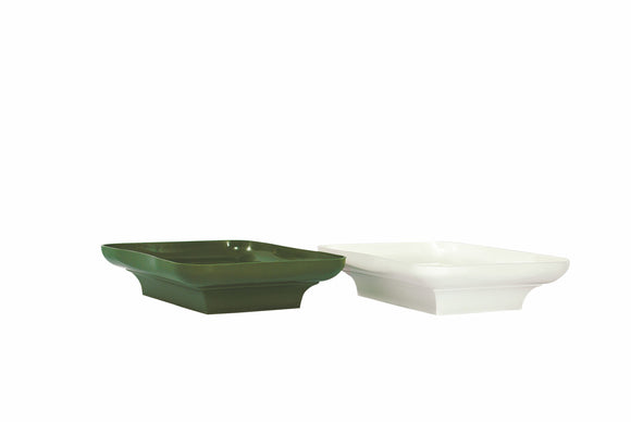 Centerpiece Design Tray, Green (Pack of 24) - ifloral.com