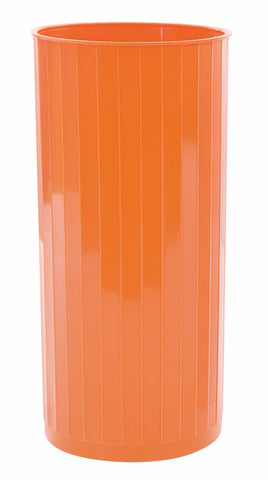 Images Vase, Orange (Pack of 12)
