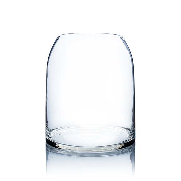 Clear Dome Shape Terrarium Bowl Glass Vase. Open: 6.4