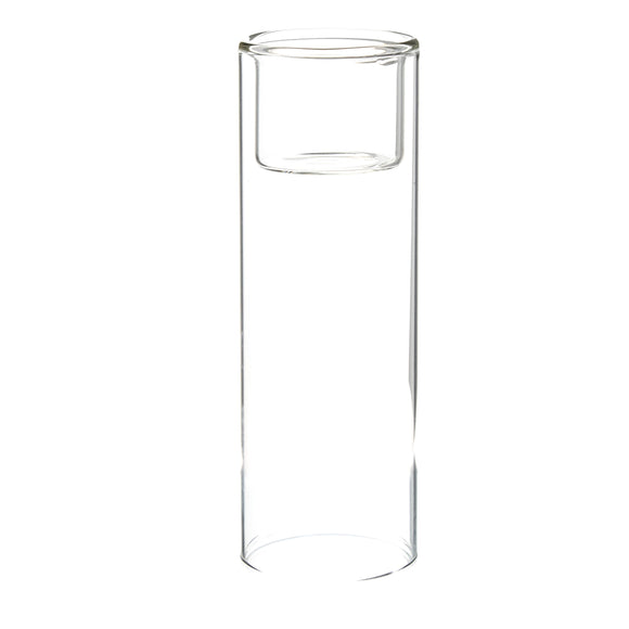 Clear Cylinder Raised Votive Candle Holder. Width: 2.3