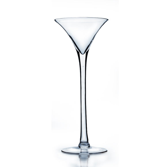 Martini Glass Vase. Open: 6