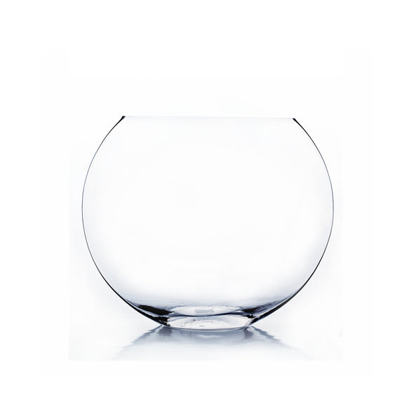 Clear Moon Vase - Open: