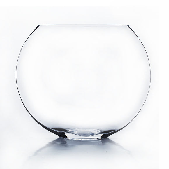 Clear Moon Vase - Open: 10