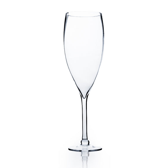 Clear Wine Vase. Open: 5