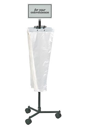 BBS-C Bouquet Bag Stand with Casters - ifloral.com