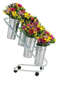 BD4AG Galvanized Fresh Flower Display - ifloral.com