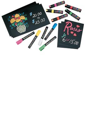 CB711 Chalkboard + Markers - ifloral.com