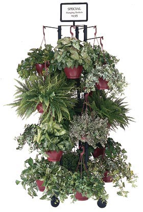 MHB-HB Three Pole Hanging Basket Stand - ifloral.com
