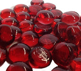 Red Gems, Marbles - 5 Pound Bulk Bag - ifloral.com